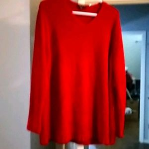 Carolyn Taylor Red Sweater ♥